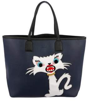 Karl Lagerfeld Monster Choupette Tote