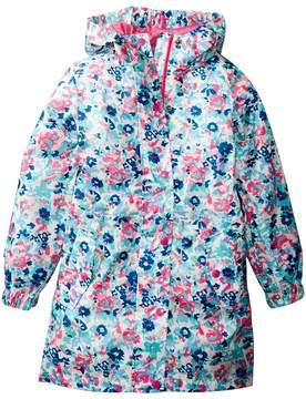 Joules Kids Waterproof Packable Jacket Girl's Coat