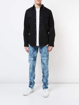 Fear Of God Indigo bleached effect slim-fit jeans
