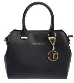 Trussardi Women's Black Polyurethane Handbag.
