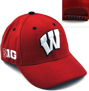 NCAA Top of the World Wisconsin Badgers Triple Conference Baseball Cap - Adult