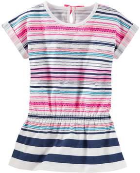 Osh Kosh Girls 4-8 Striped Drop-Waist Tunic