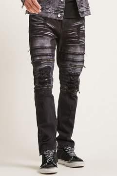 21men 21 MEN Victorious Distressed Jeans
