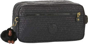 Kipling Agot water-resistant toiletry bag - BLACK SCALE EMB - STYLE