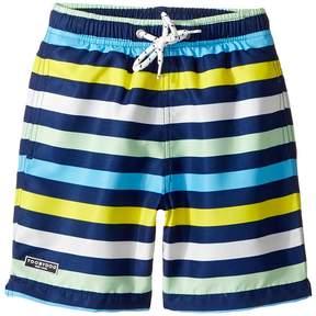 Toobydoo Multi Stripe Swim Shorts (Infant/Toddler/Little Kids/Big Kids)