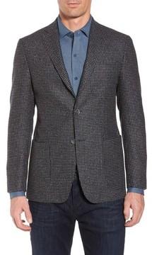Bugatchi Men's Wool Blend Houndstooth Blazer