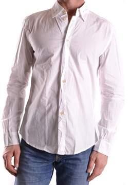 Marithé + François Girbaud Men's White Cotton Shirt.
