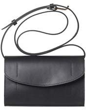 Joanna Maxham The Runthrough Mini Bag In Black Nappa (gld).