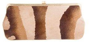 Lambertson Truex Leather & Ponyhair Clutch