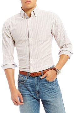 Daniel Cremieux Slim-Fit Stretch Stripe Oxford Long-Sleeve Woven Shirt