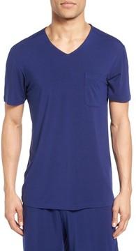 Daniel Buchler Men's V-Neck Stretch Modal T-Shirt