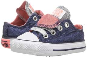 Converse Chuck Taylor All Star Double Tongue Ox (Infant/Toddler)