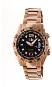 Reign Caruso Collection Men's Automatic Stainless Steel and Stainless Steel Watch