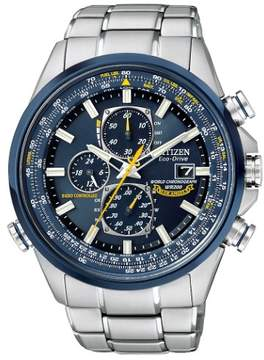 Citizen Men's AT8020-54L Blue Angels Stainless Steel Watch, 43mm
