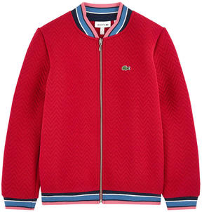 Lacoste Embossed jersey sweatshirt