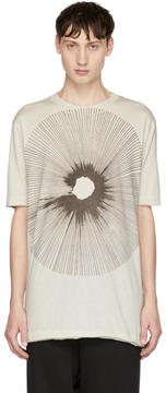 Damir Doma Off-White Teal T-Shirt