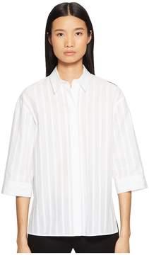 Escada Sport Nabidha Short Sleeve Stripe Top Women's Clothing