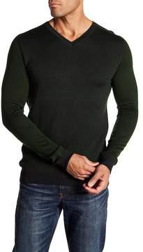 Jared Lang Slim Fit Contrast Sweater