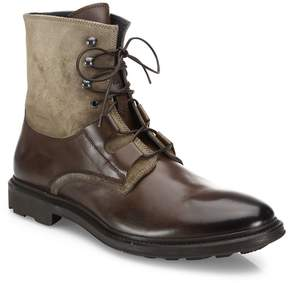 To Boot Men's Leather & Suede Lace-Up Boots