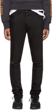 Ksubi Black Travis Scott Edition Flame Chitch Jeans
