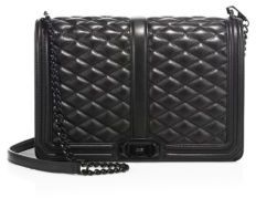 Rebecca Minkoff Love Jumbo Quilted Leather Crossbody Bag