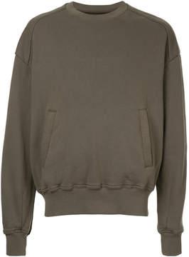 Juun.J front pockets sweatshirt