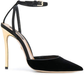DSQUARED2 contrast heel pumps