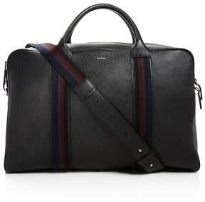 Paul Smith Webbing Leather Weekender
