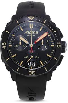 Alpina Seastrong Diver 300 Quartz Chronograph, 43.5mm