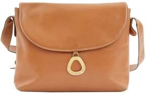 Lancel Vintage Camel Leather Handbag