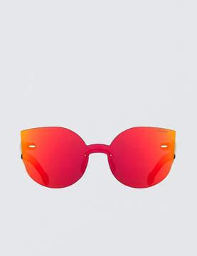 RetroSuperFuture Super By Tuttolente Lucia Red Sunglasses