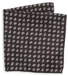 Saks Fifth Avenue COLLECTION Reversible Printed Pocket Square