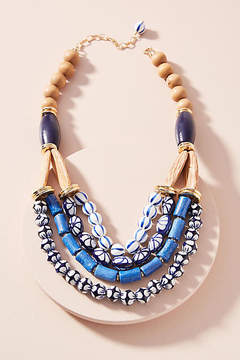 Anthropologie Caterina Bib Necklace