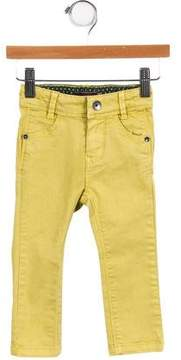 Catimini Girls' Embroidered Four Pocket Jeans