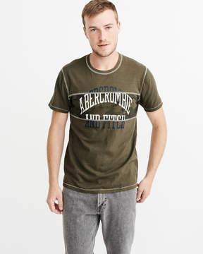 Abercrombie & Fitch Camo Logo Tee