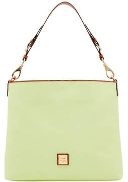 Dooney & Bourke Pebble Grain Extra Large Courtney Sac Shoulder Bag - KEY LIME - STYLE