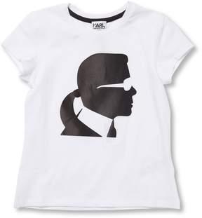 Karl Lagerfeld Girl's Graphic Tee