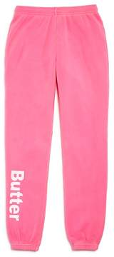 Butter Shoes Girls' Fleece Jogger Pants - Big Kid