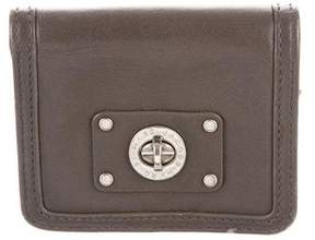 Marc by Marc Jacobs Leather Compact Wallet