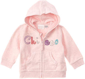 Chicco Girls' Pink Zip Up Jacket