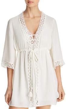 Flora Nikrooz Nina Crepe Cover-Up Robe