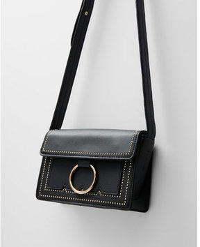 Express melie bianco cherie studded cross body bag