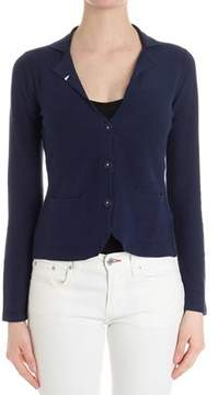 Sun 68 Women's Blue Cotton Cardigan.