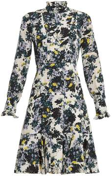 Erdem Bernette floral-print silk crepe de Chine dress
