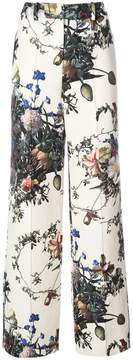 ADAM by Adam Lippes flower print palazzo trousers