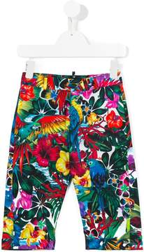 DSQUARED2 printed trousers
