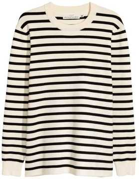 H&M Fine-knit Cotton-blend Sweater