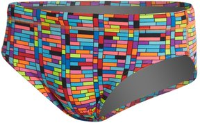 Funky Trunks Men's Stacked Up Brief Swimsuit 8148318