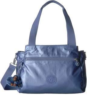 Kipling Elysia Satchel Satchel Handbags - METALLIC SCUBA DIVER BLUE - STYLE