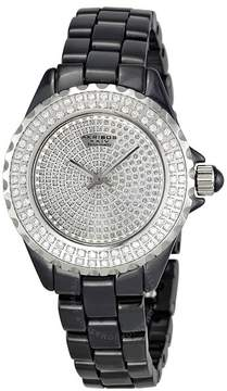 Akribos XXIV Ceramic Ladies Watch AK457BK